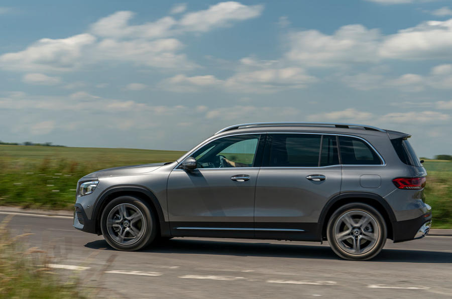 Mercedes-Benz GLB 2020 UK first drive review - hero side