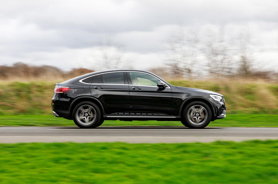 Mercedes-Benz GLC 300 2020 UK first drive review - hero side