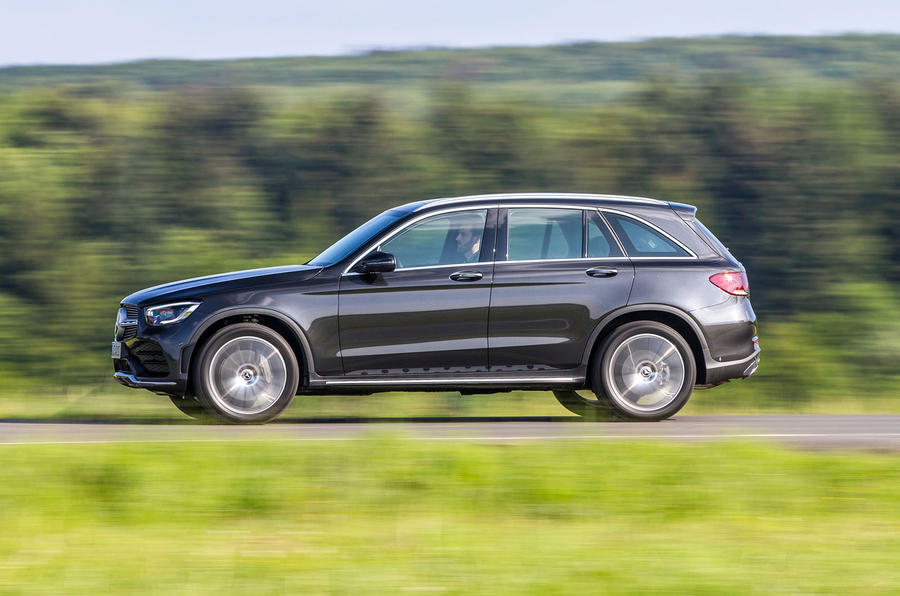 Mercedes-Benz GLC 300d 2019 first drive review - hero side