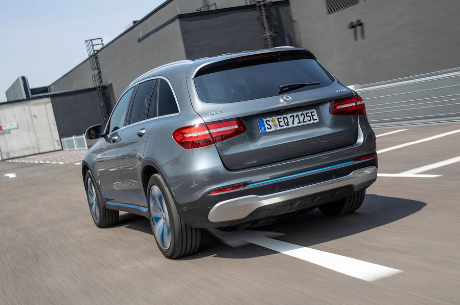 Mercedes-Benz GLC F-Cell 2019 first drive review - hero rear