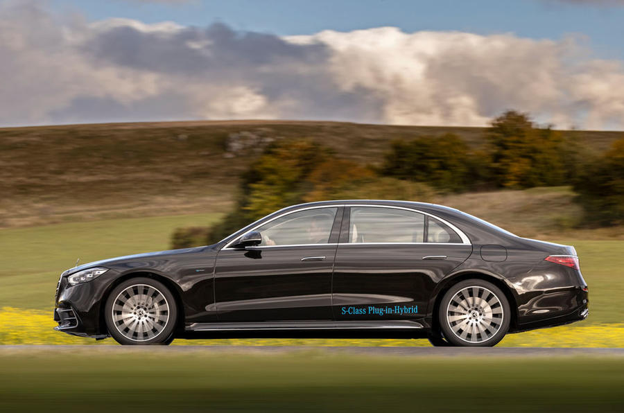 Mercedes-Benz S Class S580e 2020 first drive review - hero side