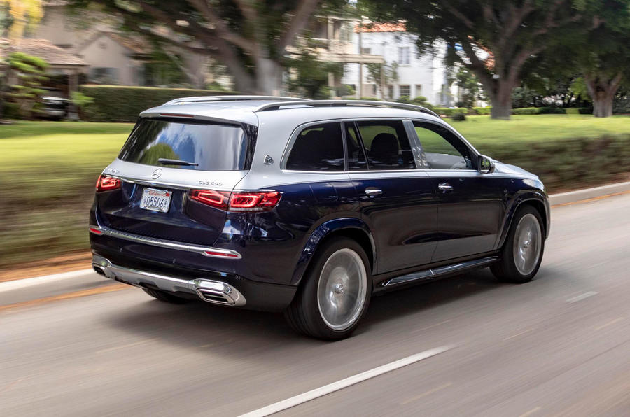 Mercedes-Maybach GLS 600 2020 first drive review - hero rear