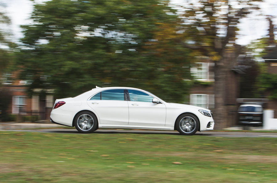 Mercedes-Benz S-Class S500L 2018 long-term review - hero side