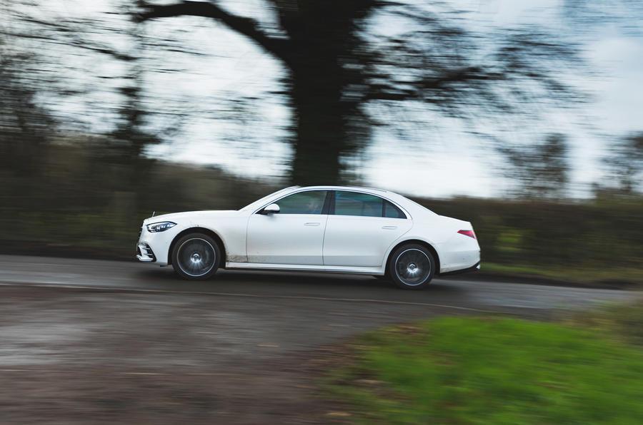 Mercedes S-Class S500 2020 (LHD) : premier bilan de conduite au Royaume-Uni - côté héros