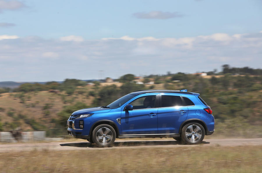 Mitsubishi ASX 2019 first drive review - hero side