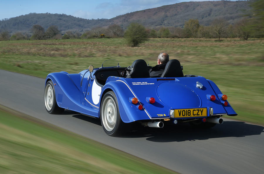 Morgan Plus 8 2018 review hero rear