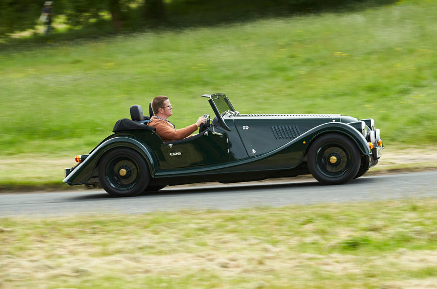 Morgan Plus Four 2020 UK first drive review - hero side