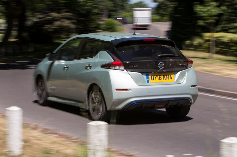Nissan Leaf 2nd generation (2018) long-term review hero rear