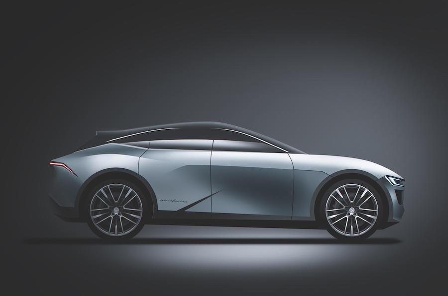 Pininfarina EV design sketch