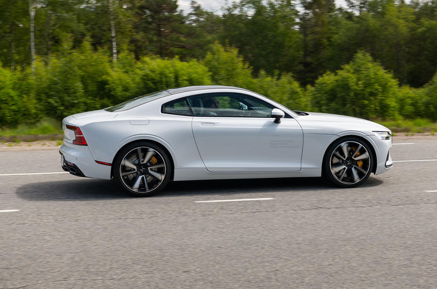 Polestar 1 2019 first drive review - hero side