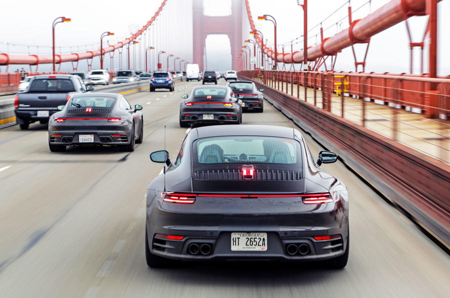 2019 Porsche 911 prototype first ride - golden gate