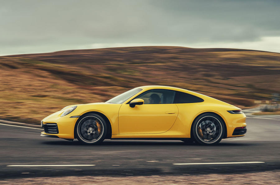 Porsche 911 Carrera 4S 2019 UK first drive review - hero side
