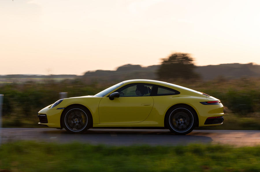 Porsche 911 Carrera 2019 first drive review - hero side