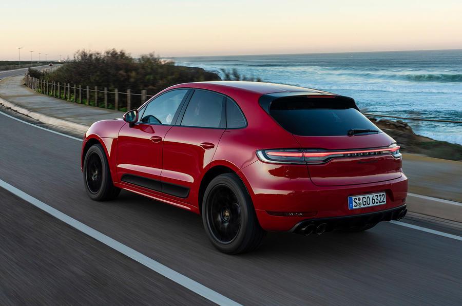 Porsche Macan GTS 2020 first drive review - hero rear