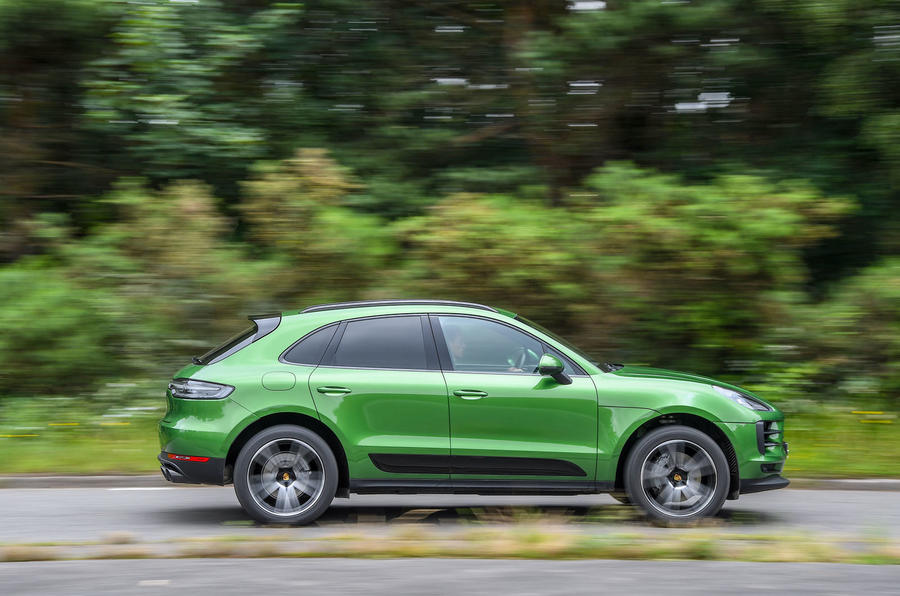 Porsche Macan S 2019 UK first drive review - hero side