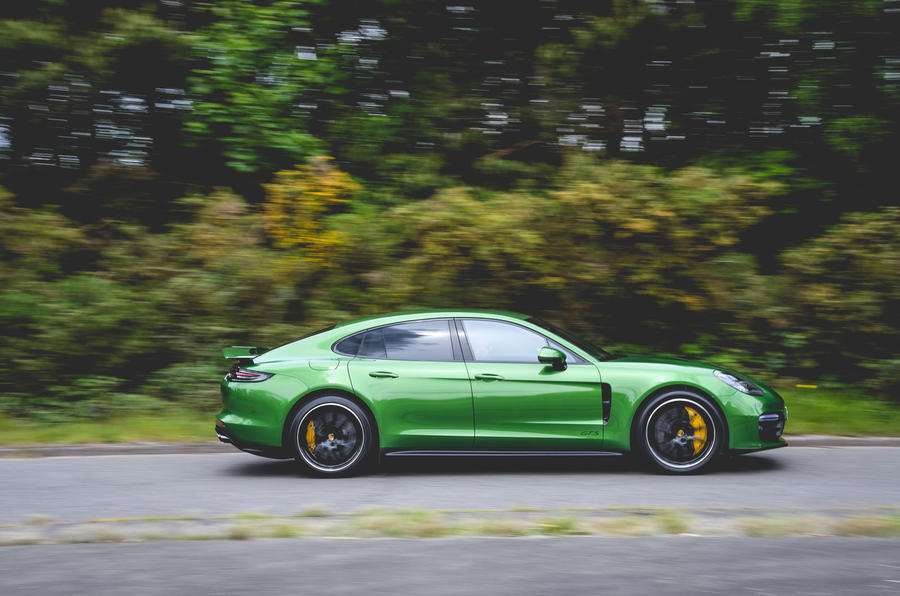 Porsche Panamera GTS 2019 UK first drive review - hero side