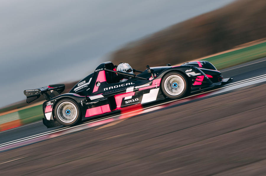 Radical SR10 2020 UK first drive review - hero side