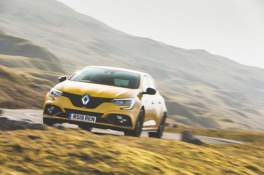 Renault Megane RS - hero front