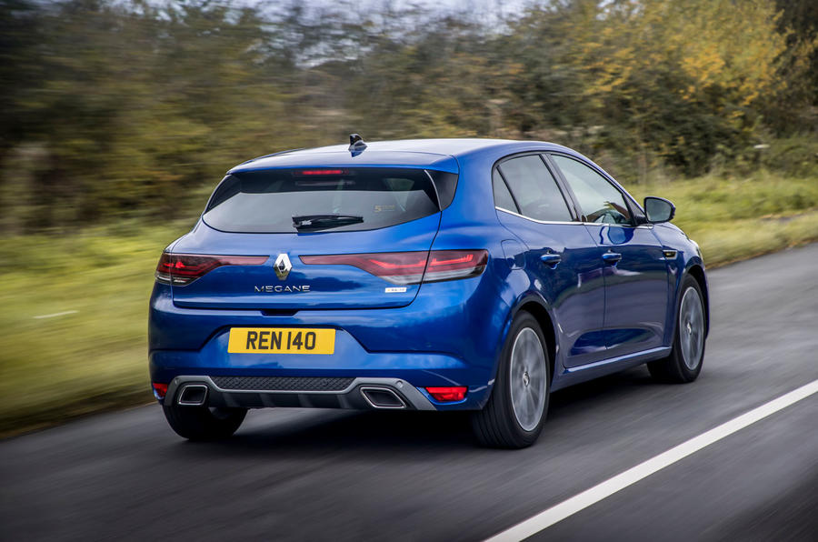 Renault Megane Sport 2020 UK first drive review - hero rear