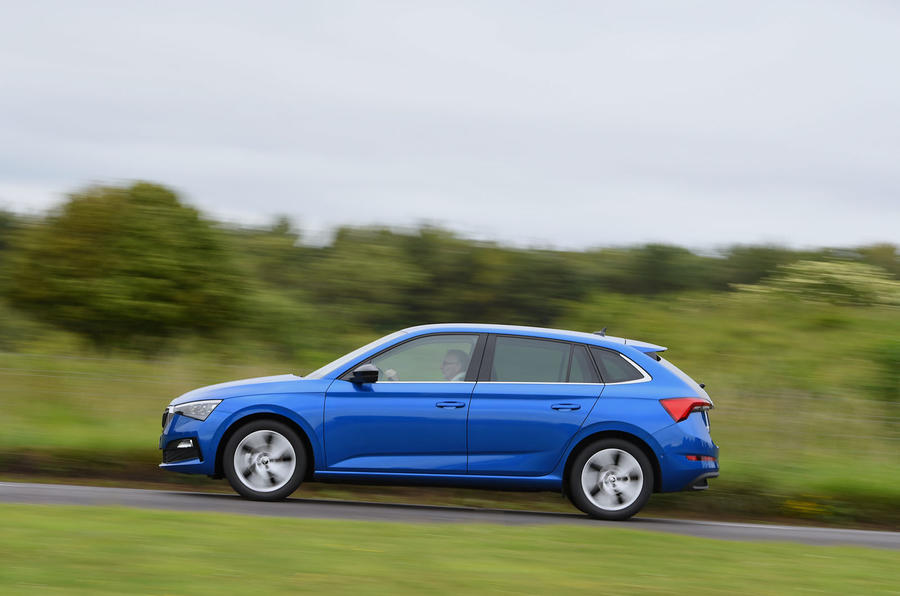 Skoda Scala 1.6 TDI 2019 UK first drive review - hero side