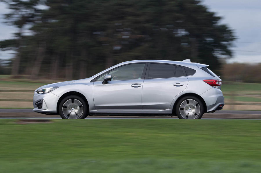 Subaru Impreza 2018 UK review hero side