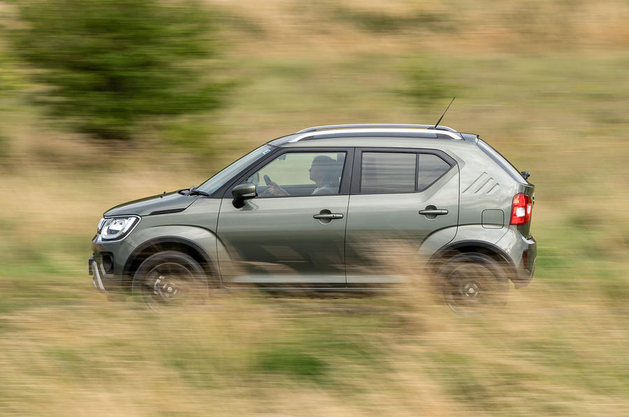 Suzuki Ignis hybrid 2020 UK first drive review - hero side