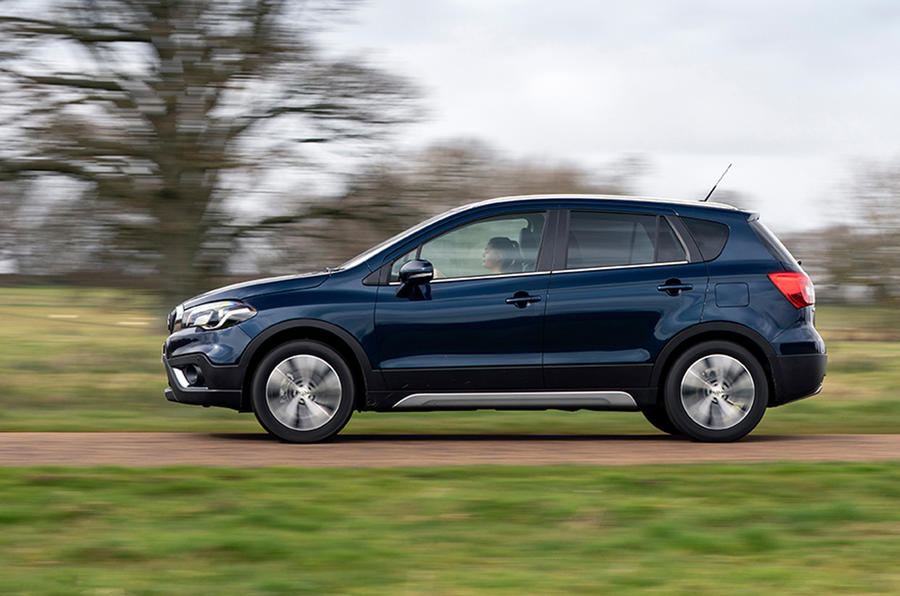 Suzuki SX4 S-Cross Hybrid 2020 UK first drive review - hero side