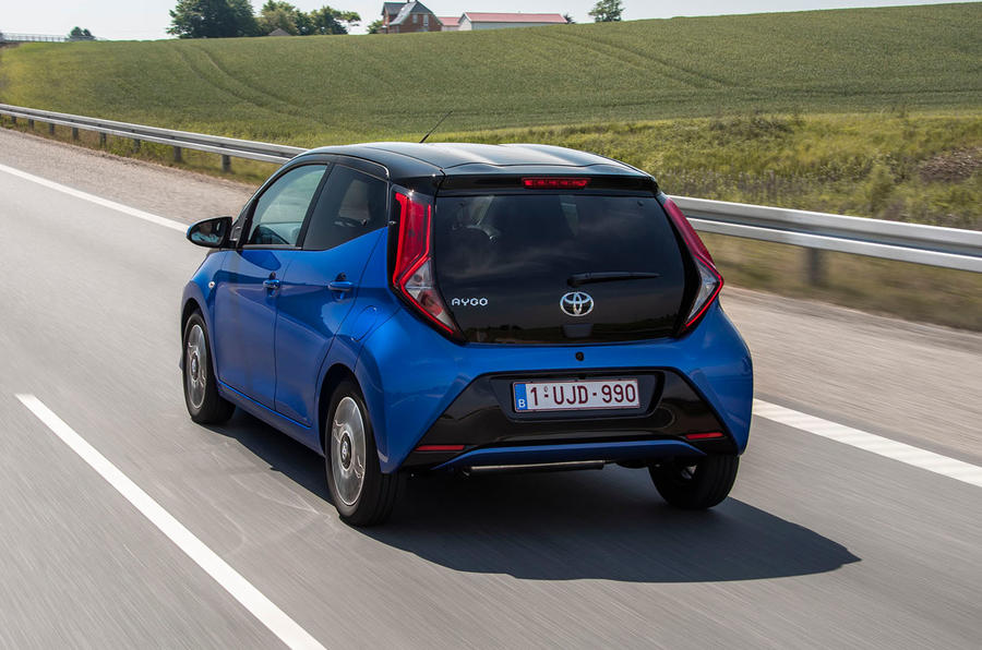 Toyota Aygo 2018 review hero rear