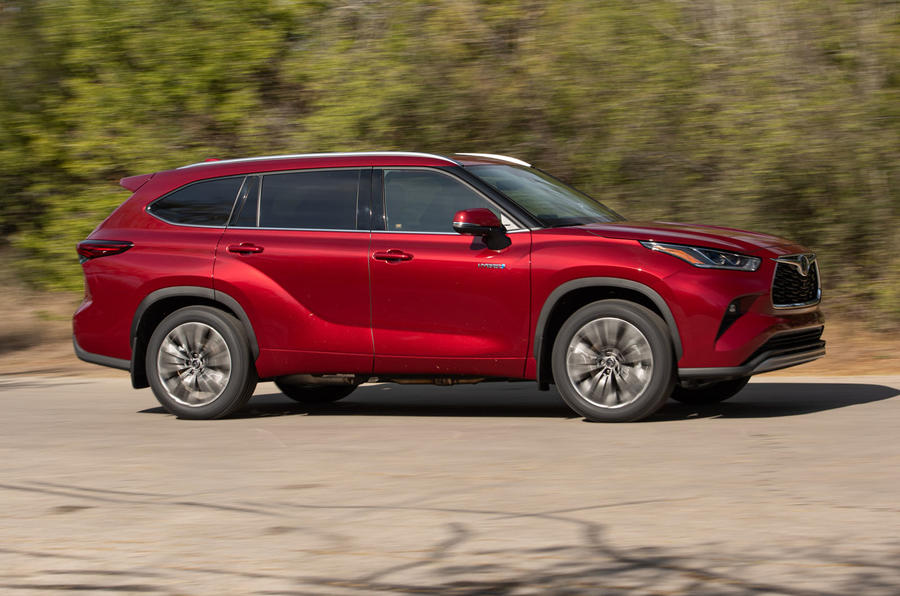 Toyota Highlander Hybrid 2020 first drive review - hero side
