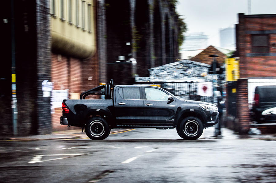 Toyota Hilux Invincible 50 2019 first drive review - hero side