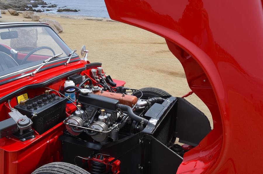 Triumph Spitfire - engine