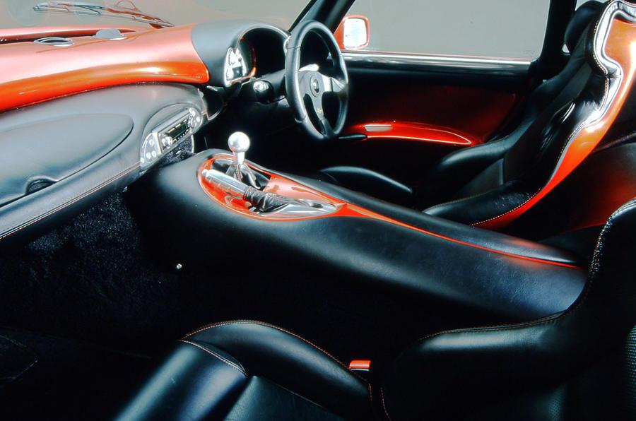 TVR Sagaris 2005 - interior