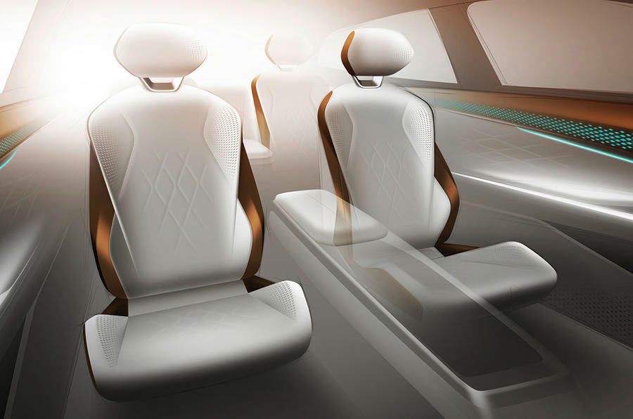 Volkswagen ID Space Vizzion 2019 - interior