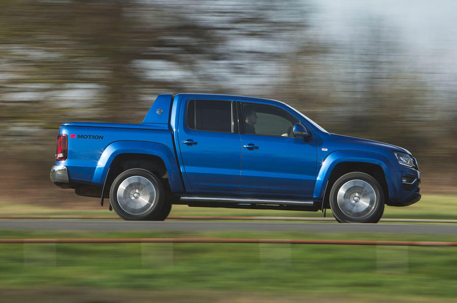 Volkswagen Amarok Aventura 2019 first drive review - hero side