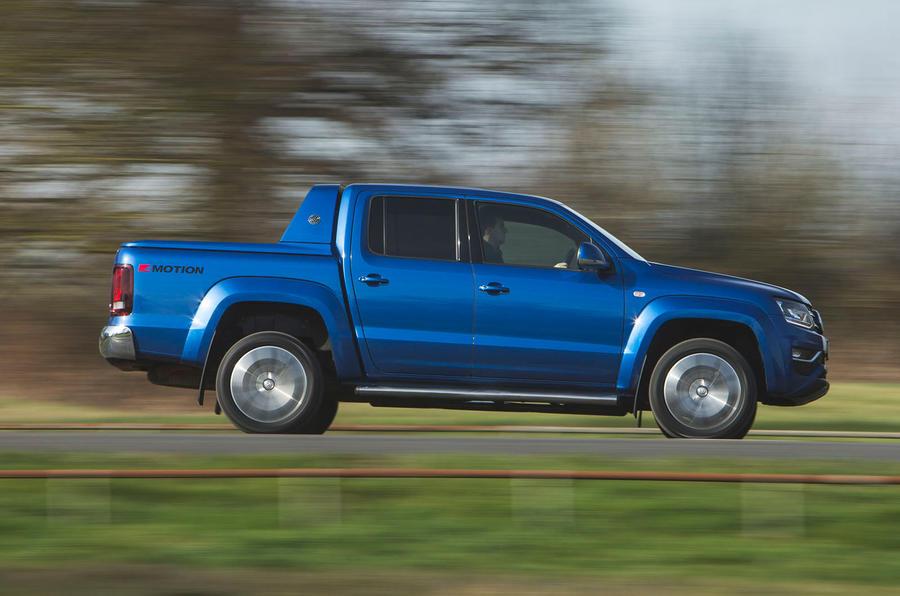 Volkswagen Amarok Aventura 2019 first drive review - hero side