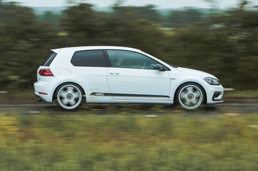 Volkswagen Golf R m52 2019 UK first drive review - hero side