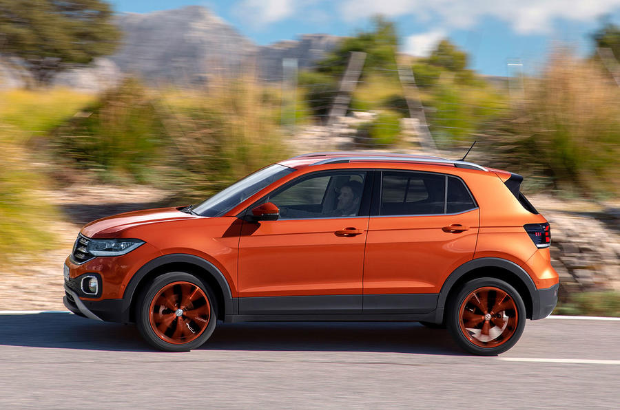 Volkswagen T-Cross 2019 first drive review - hero side