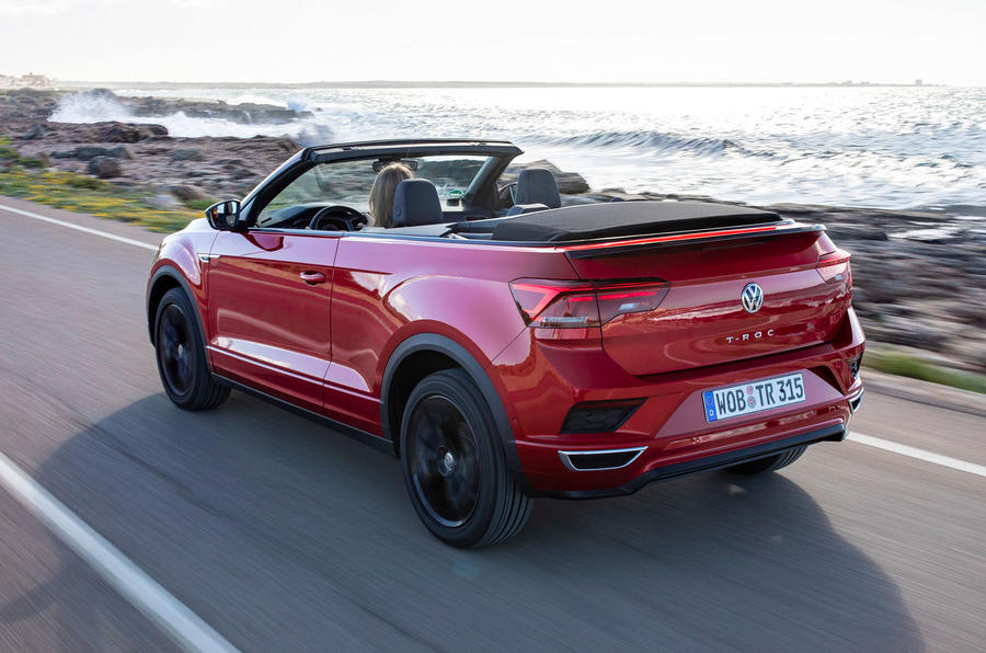 Volkswagen T-Roc Cabriolet 2020 first drive review - hero rear
