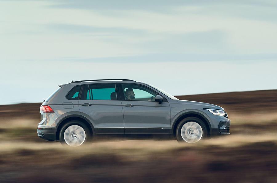 Volkswagen Tiguan Life 2020 : premier bilan de conduite au Royaume-Uni - côté héros
