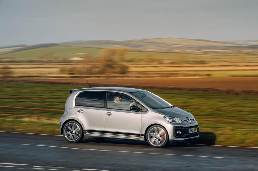 Volkswagen Up GTI 2020 : premier bilan de conduite au Royaume-Uni - côté héros