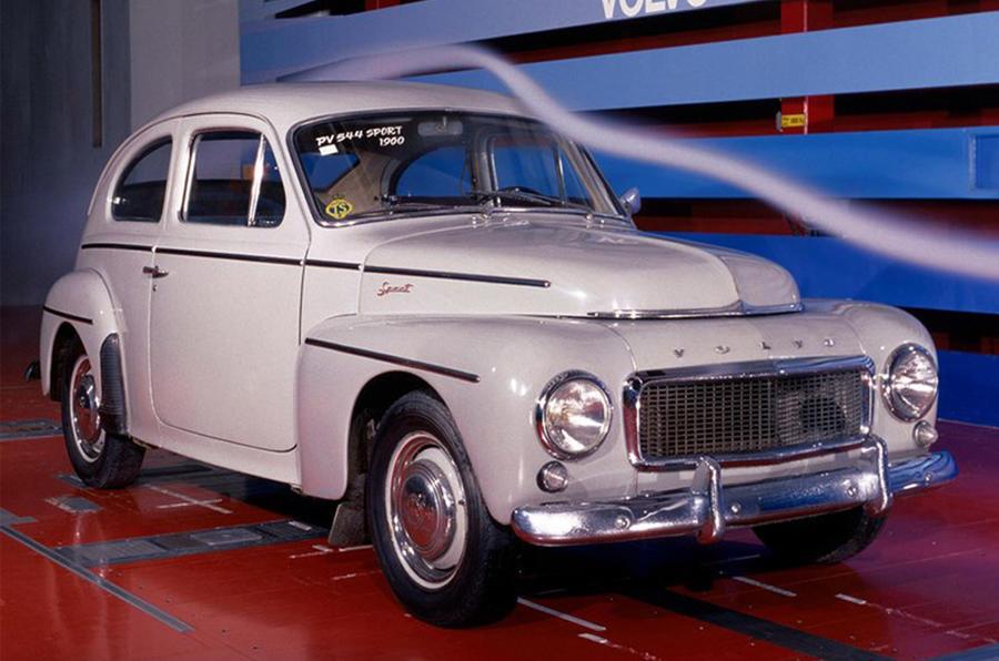 Volvo PV544 - static front