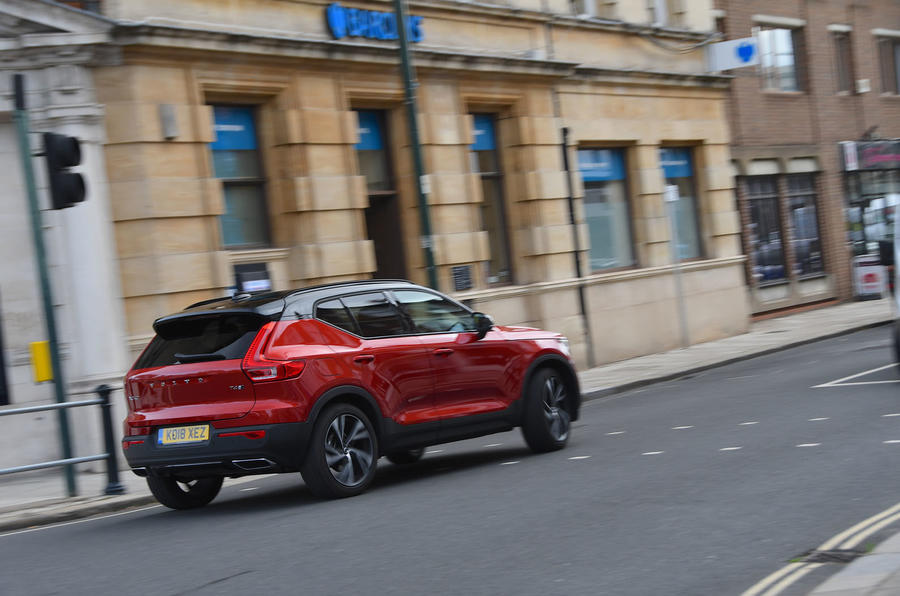 Volvo XC40 2018 long-term review - hero rear
