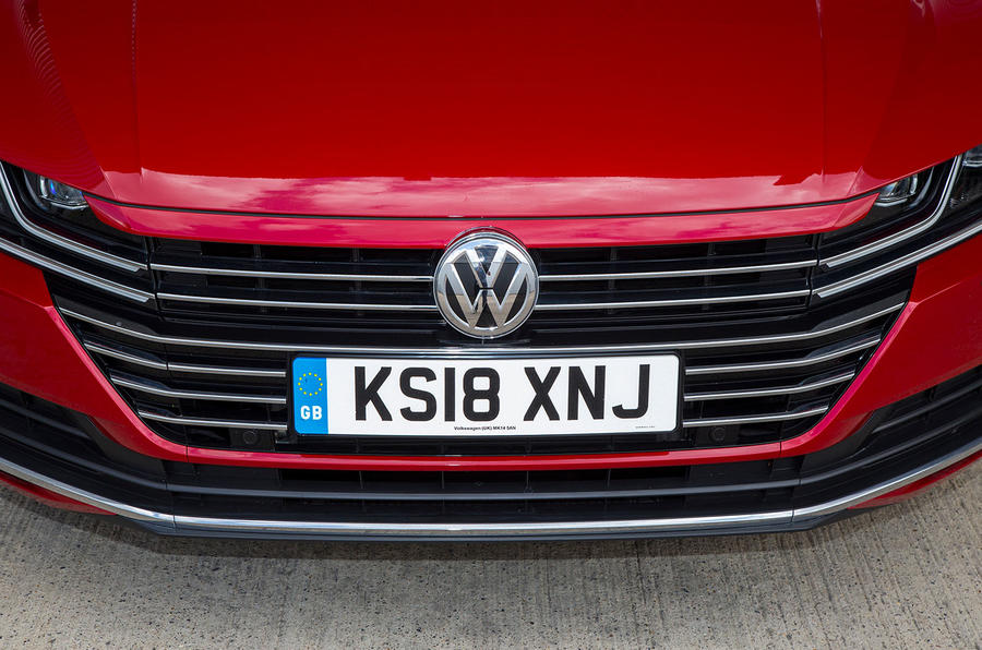 Volkswagen Arteon 2018 long-term review front bumper