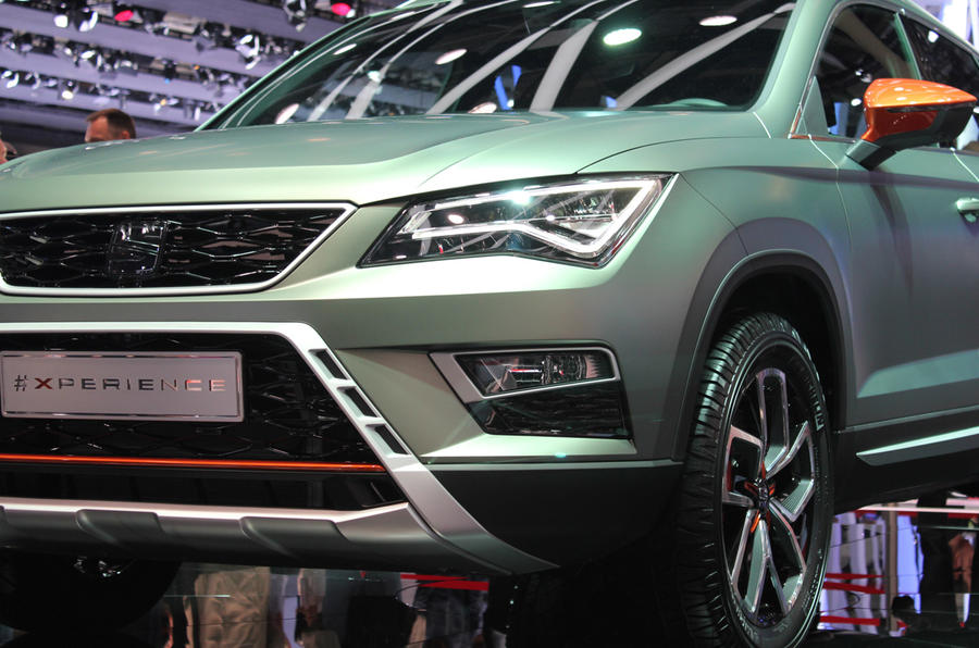The SEAT Ateca X-PERIENCE is a new concept