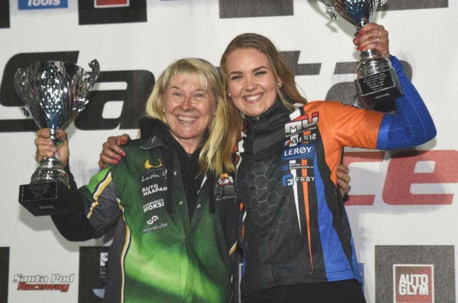 Anita Makela and Maja Udtian
