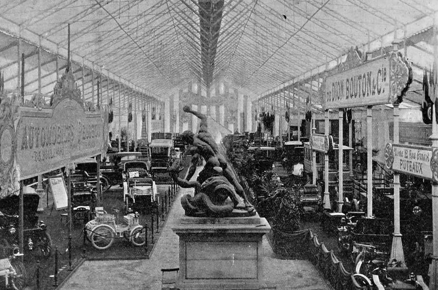 1890s motor show