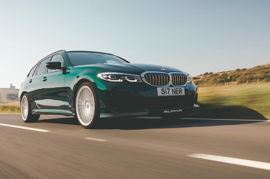 Alpina B3 Touring 2020 UK first drive review - on the road