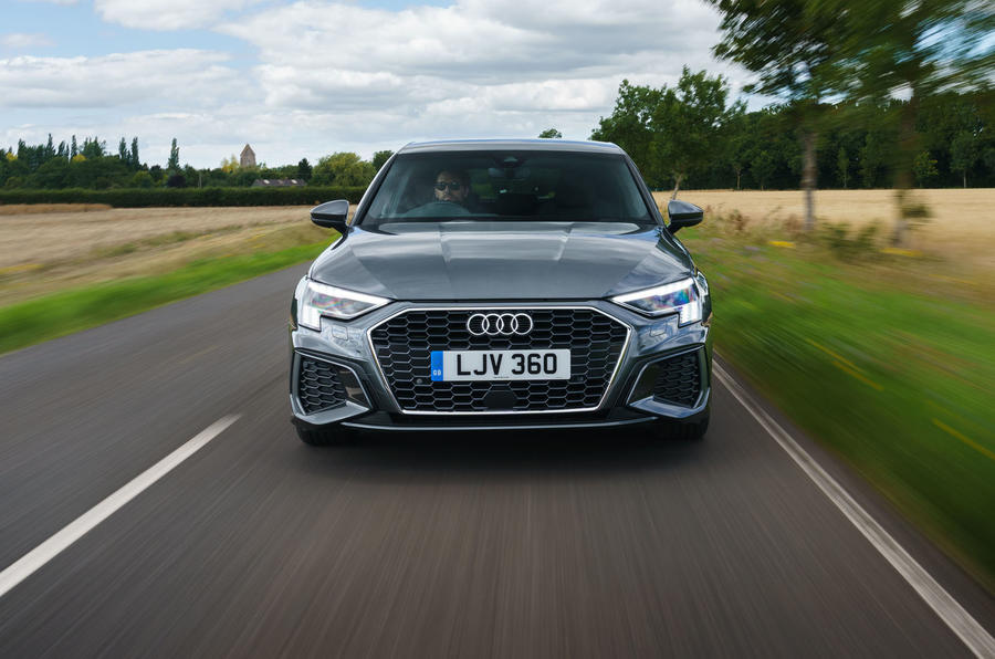 Audi A3 Sportback 2020 UK first drive review - on the road nose
