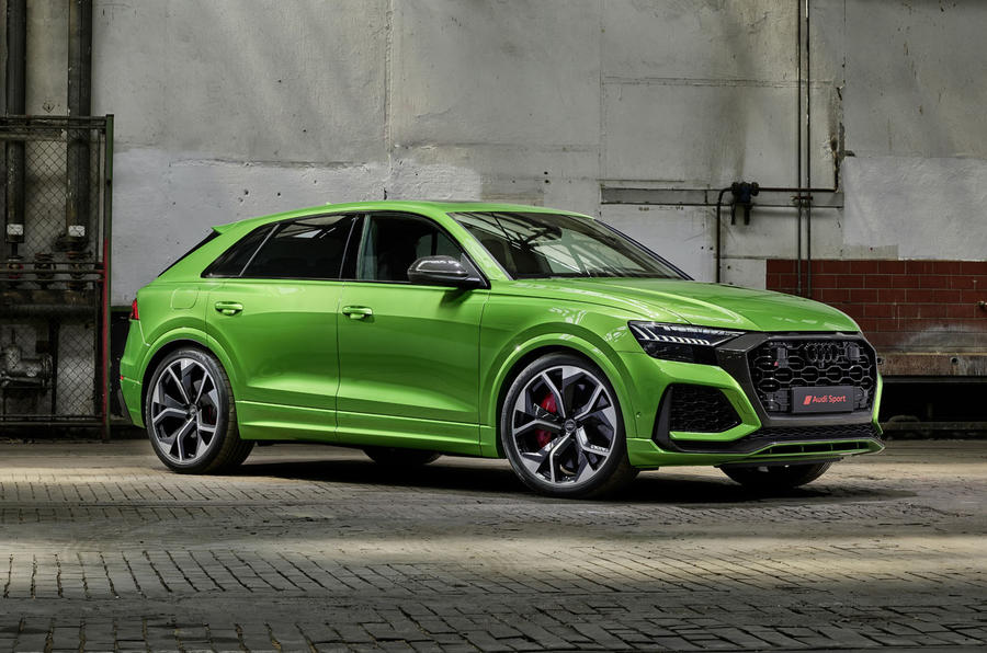 Audi RS Q8 2020 official reveal photos - static front