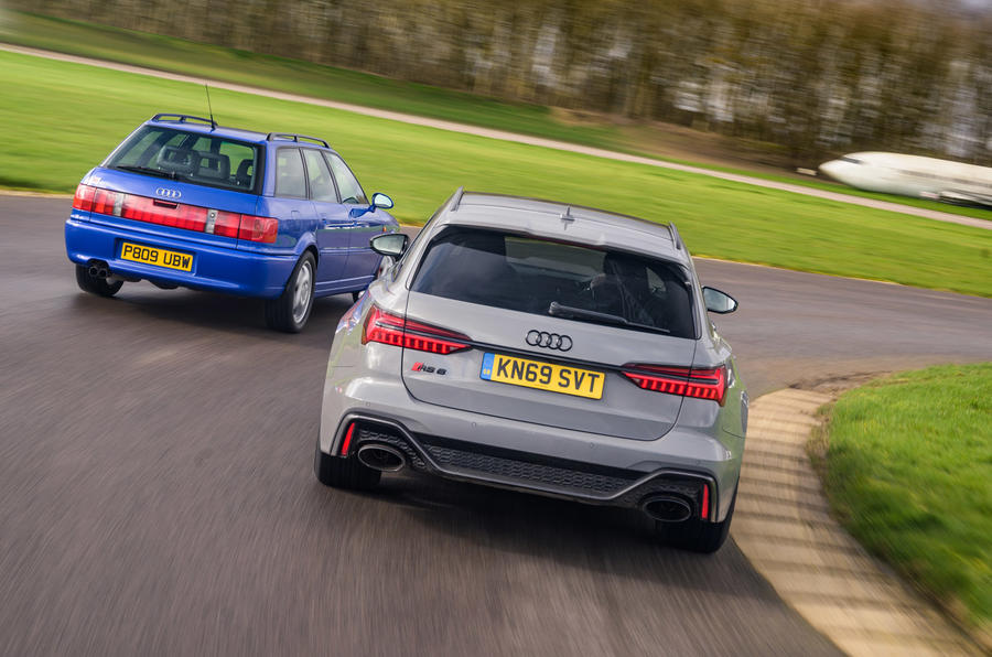 Audi RS2 - hero rear